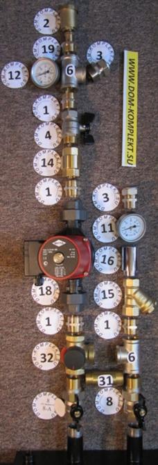 Схемы систем отопления обвязки котлов